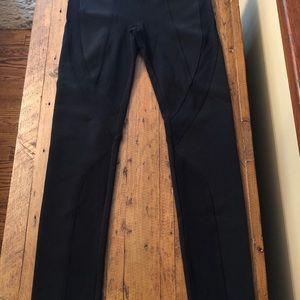 BCBG black textured leggings